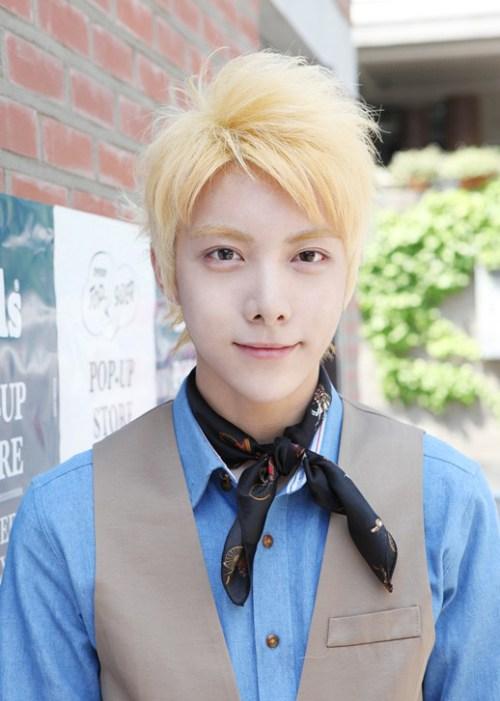 peinados calientes de Corea para los individuos