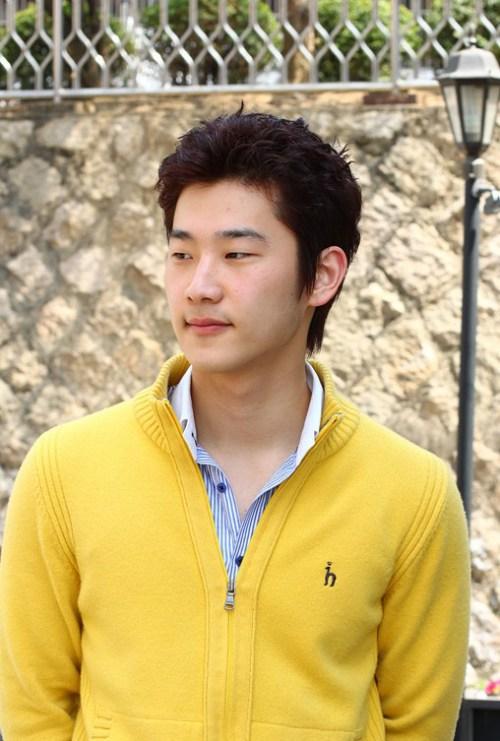Cool para hombre Peinado de Corea