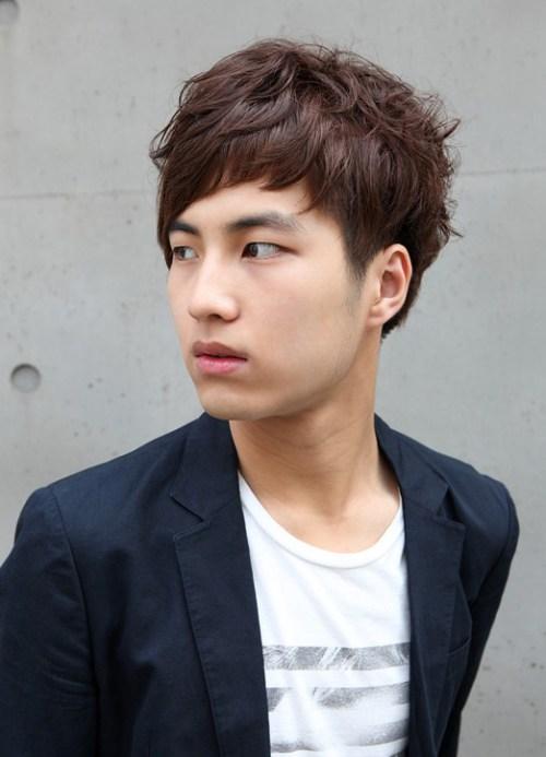 estilos de pelo para los hombres calientes de Corea