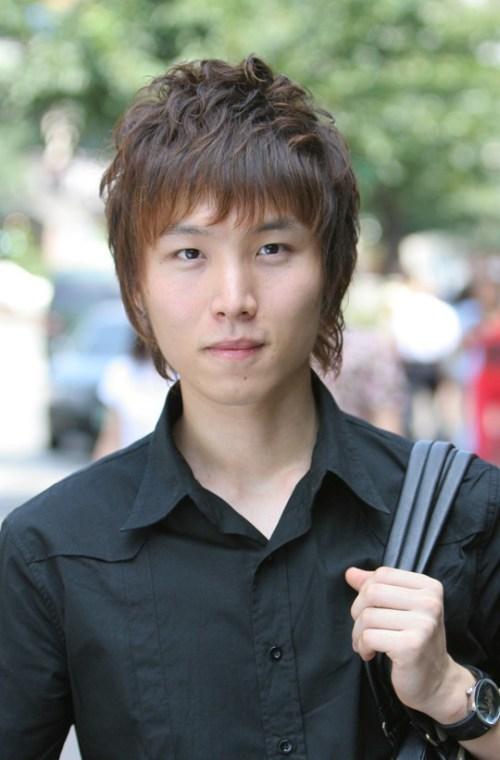 Peinados coreanos últimas para la primavera - peinados de la primavera para los chicos asiáticos