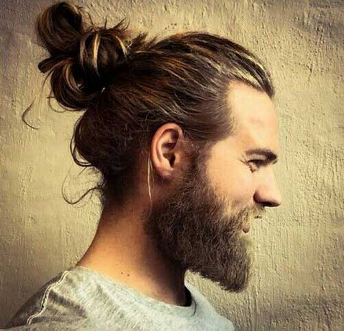 Estilos de pelo largo Men