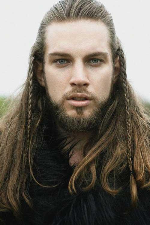 Long peinados en el Hombre