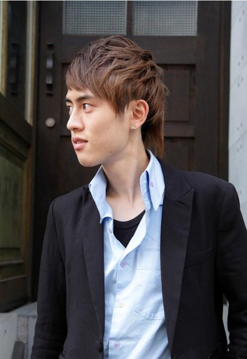 Peinados japoneses para los hombres-2015