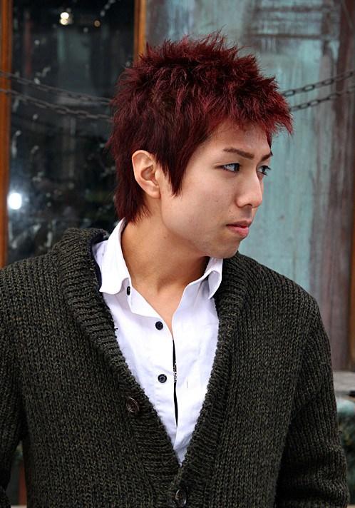 chicos de moda de Corea del corte de pelo
