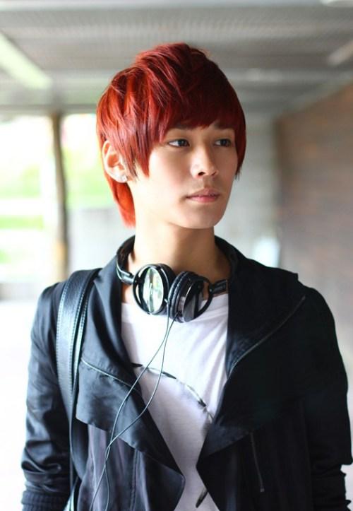 mens coreanos peinado