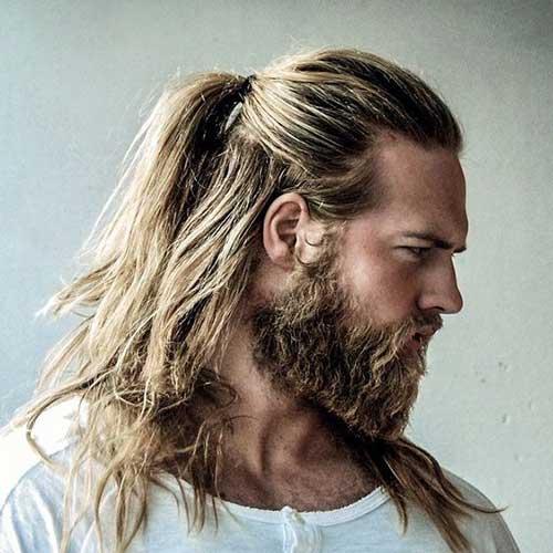 pelo largo para los hombres Consejos