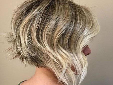 asimétricas cortes de pelo corto