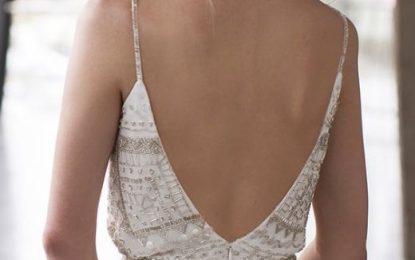 Vestidos sin espalda de moda llevar