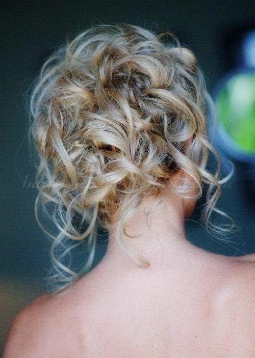medio rizado Peinado con Bedhead Textura