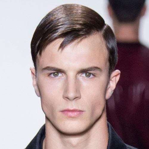 peinado pista Calvin Klein para hombres 2016