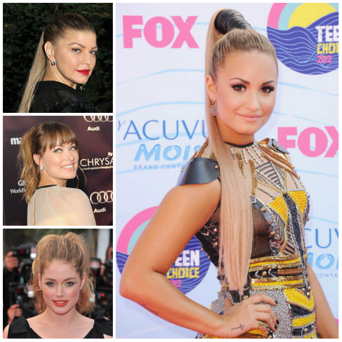 Celebrities-Inspired-Ponytail-Hairstyles-for-2017