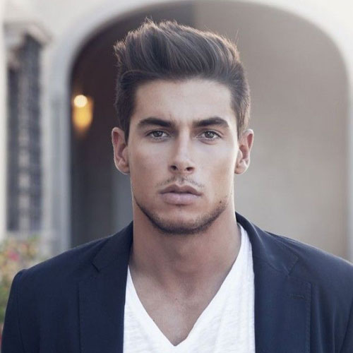 Classy-Hairstyles-For-Men-Short-Sides-with-Long-Textured-Hair