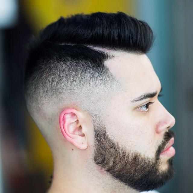 reventón peinado parte más difícil para los hombres 2017