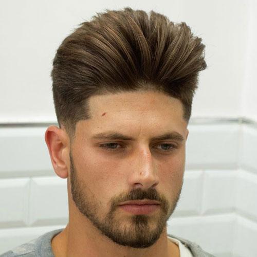 Pretty Boy peinados - Baja fundido con Modern Pompadour