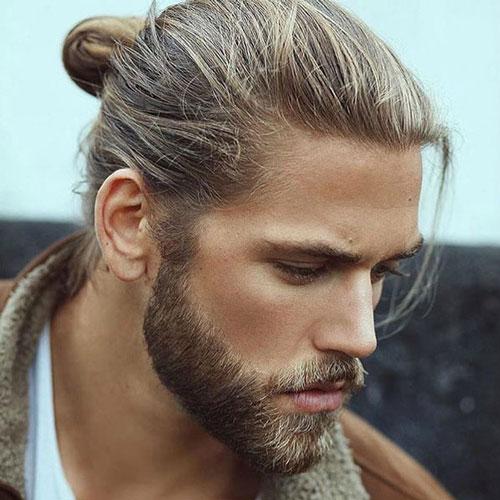 Pretty Boy - Peinados Hombre bollo con la barba