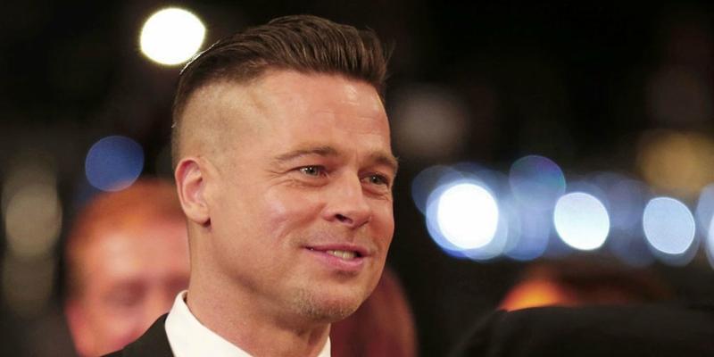 Brad Pitt Brad Pitt buzzcut 2014 peinado
