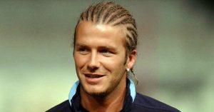 David Beckham trenzas