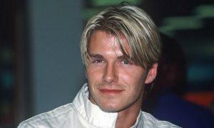 David Beckham cortinas