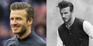 David Beckham peinados de despedida