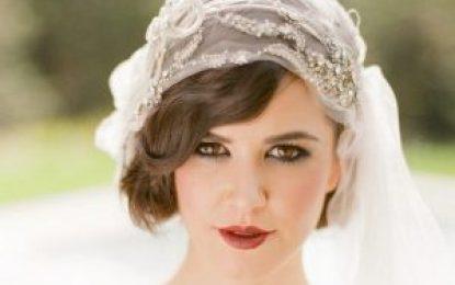 Los Modelos de novia de pelo corto