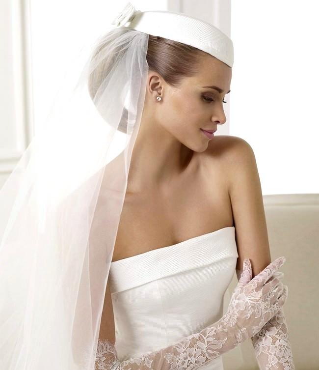 Modelo de pelo largo de la novia de la novia;