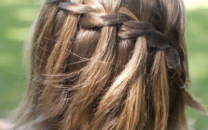 Patrones el pelo corto de trenza