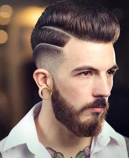corte de pelo rizado para los hombres