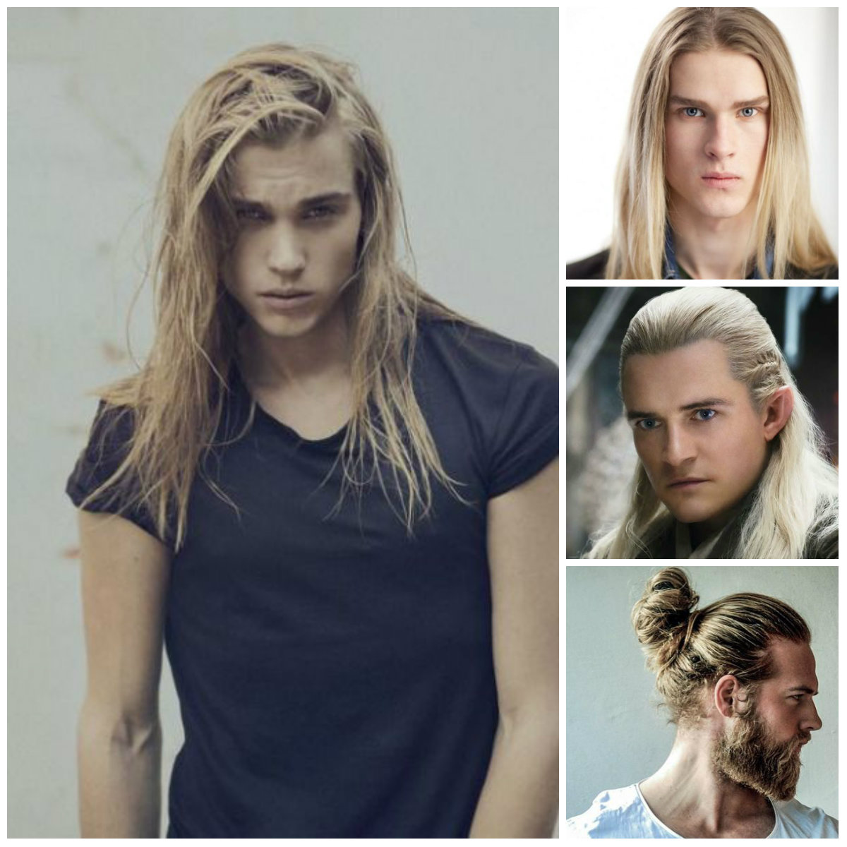 hombres largos hairstytle 2016