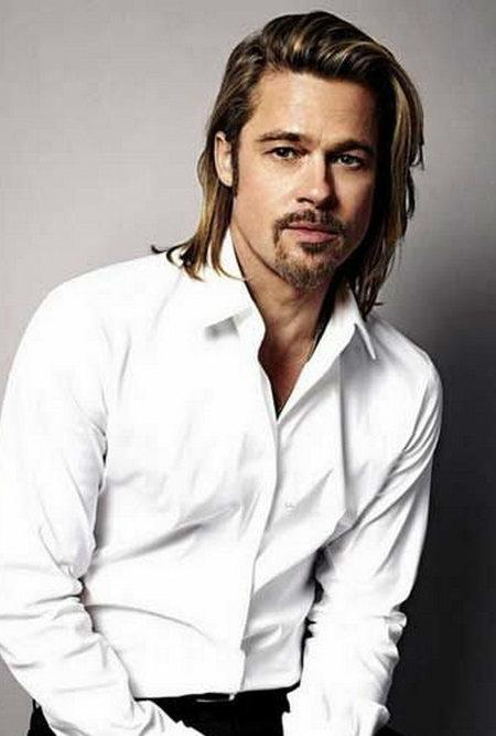 peinado de longitud media para los hombres