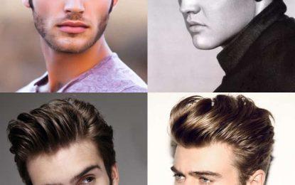 16 Pompadour Peinado Variaciones + guía completa
