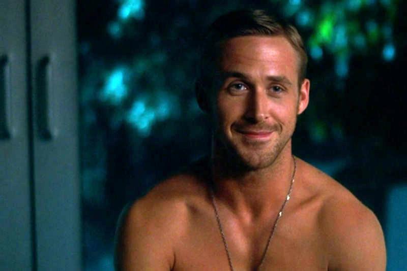 Ryan Gosling sin camisa loca estúpida amor