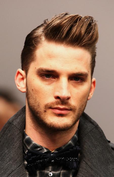 peinado de copete corto para los hombres 2016