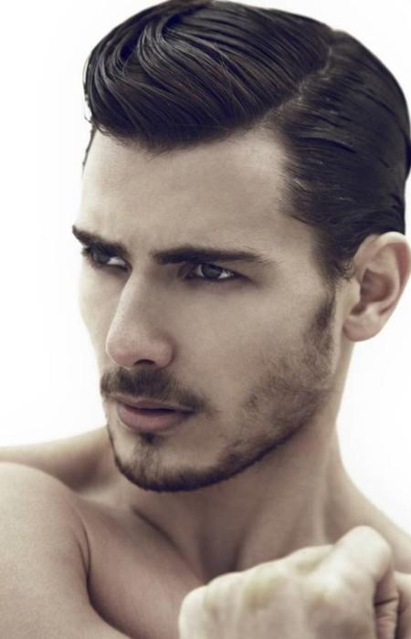 lado peinado peinado elegante para los hombres 2016