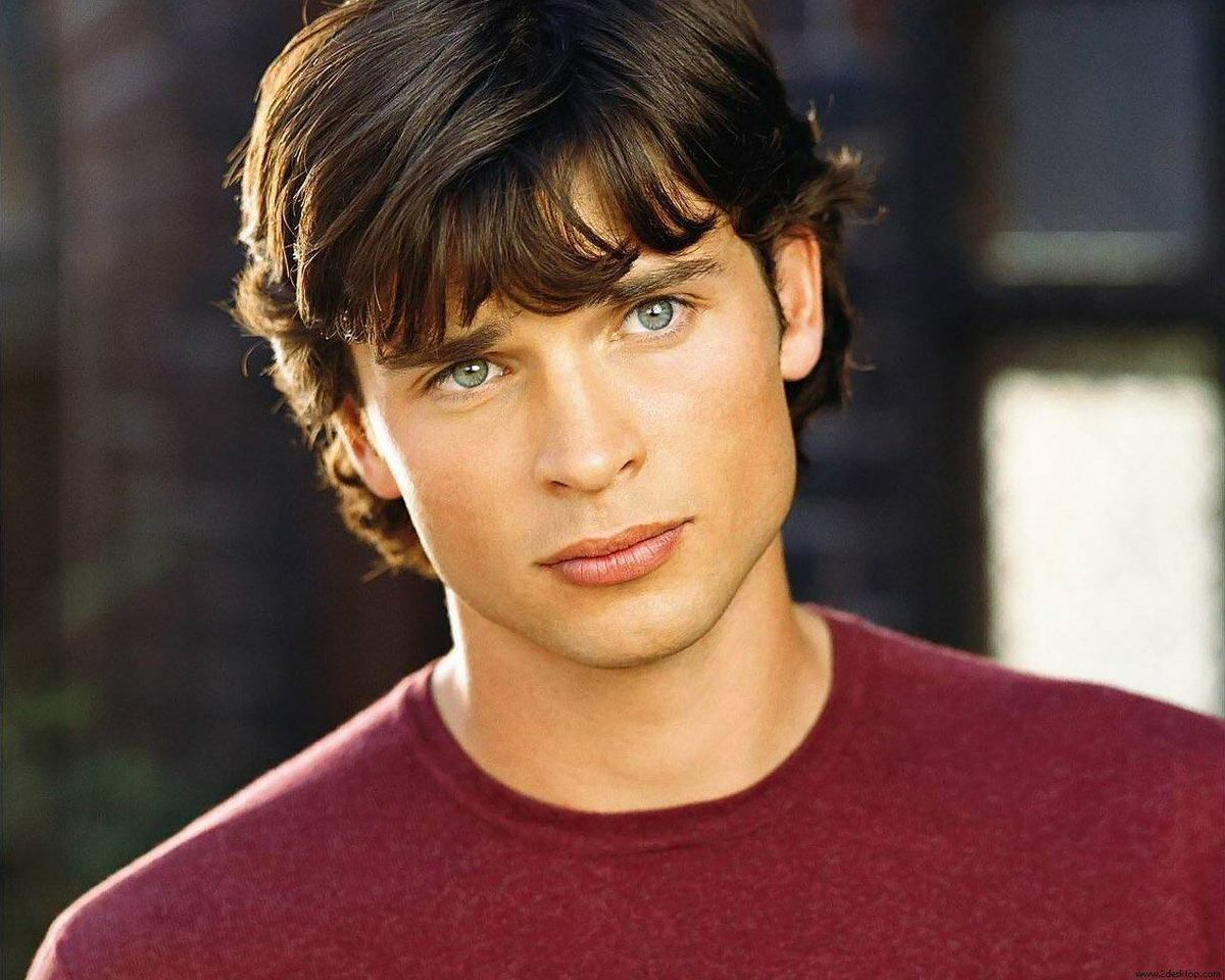 tom Welling-cara triangular