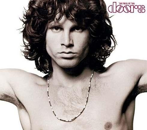 El peinado Jim Morrison para cabello ondulado