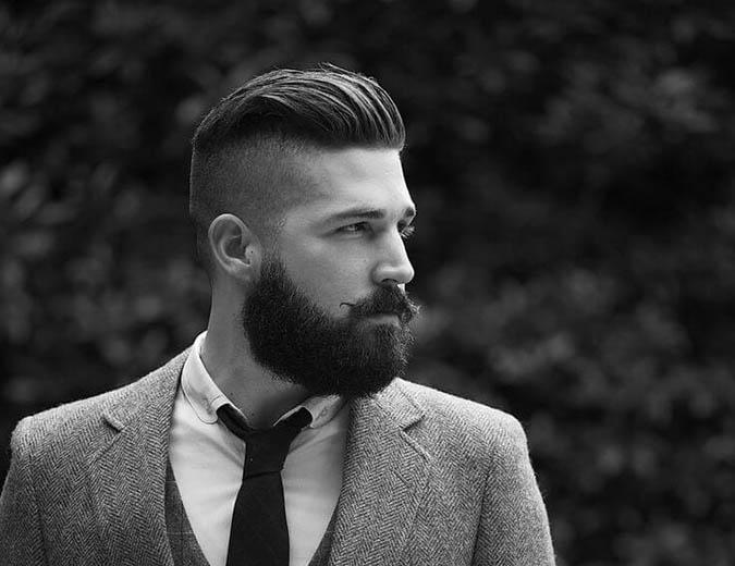 Garganta con la barba