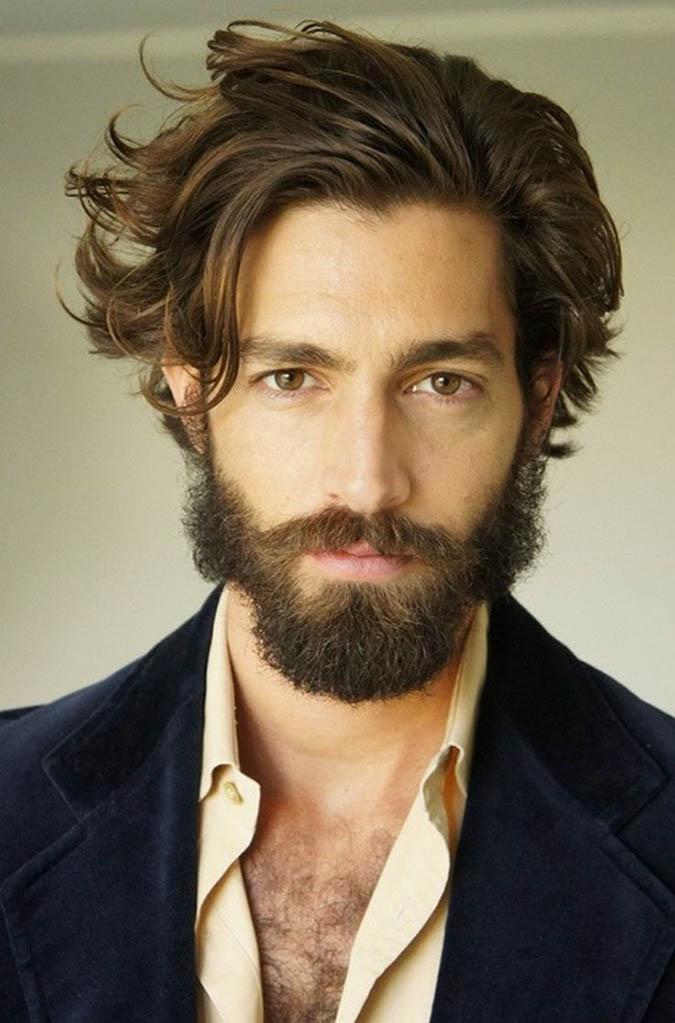 lanudo pelo de la barba