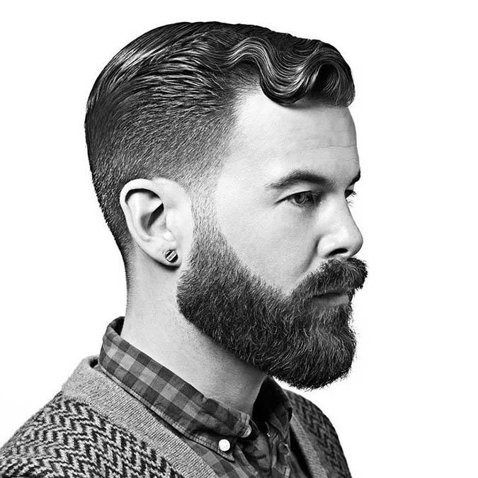 Tupé y la barba perfecta