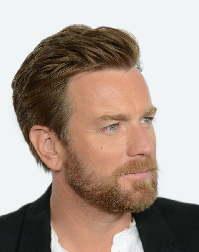 barrido lateral Ewan McGregor barba