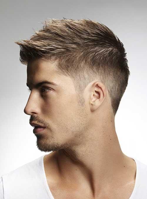 corte embotado corte de pelo corto para los adolescentes