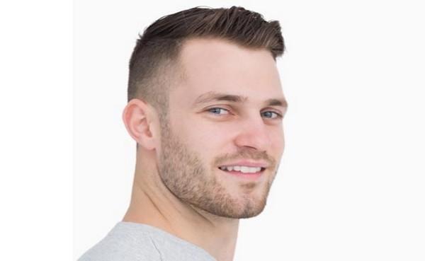 creativa corte de pelo corto para los hombres