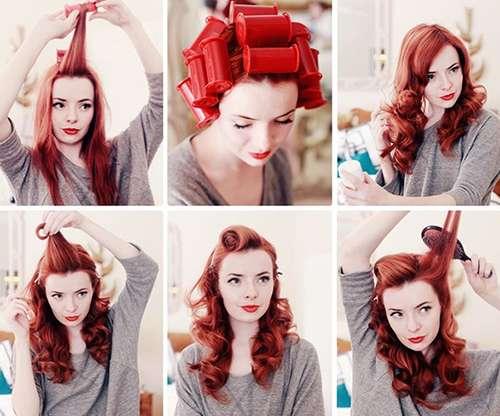 Easy Pin del vintage encima peinados para las mujeres 5-min