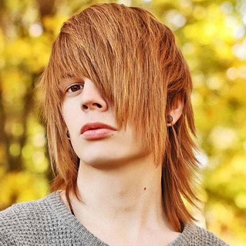 Emo peinados para Individuos con pelo grueso