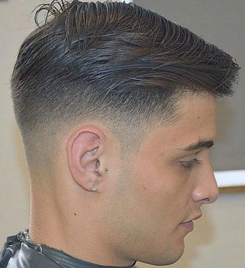 Fade corte de pelo - el pelo rizado Fundido