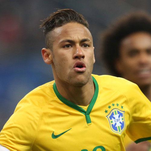Neymar Jr peinados