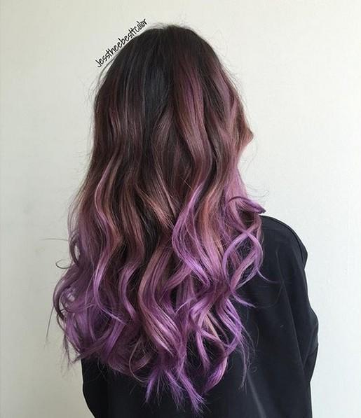 Pretty Hair Color - Ombre Balayage peinados con el pelo largo