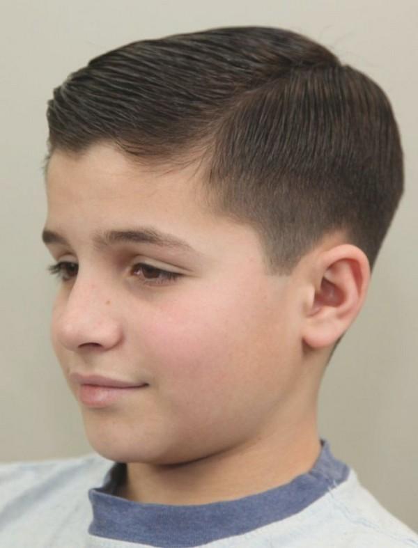 clase corto peinado con capas entrecortadas