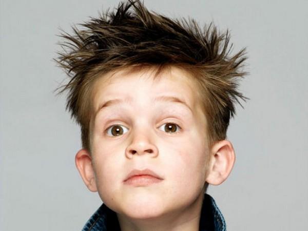 Garganta con Spike Niños peinados