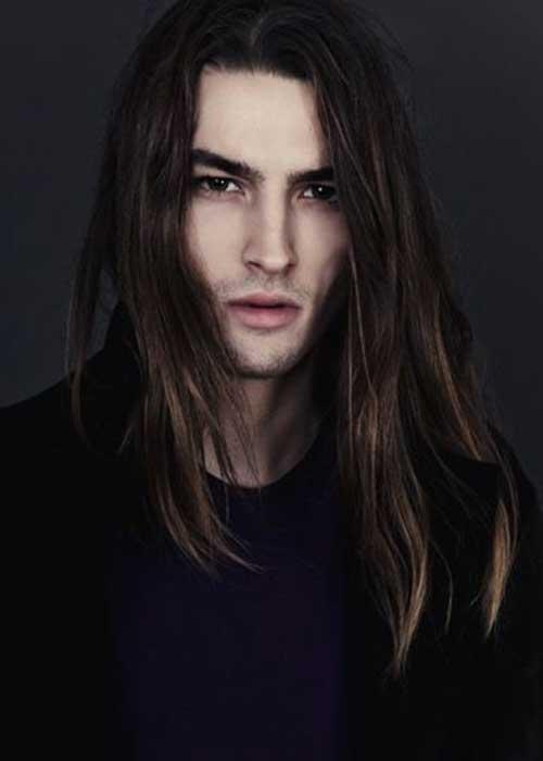45 peinados largos para los hombres-15