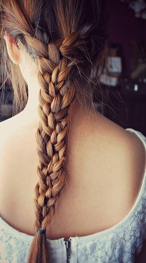 trenzado peinados para el pelo largo 20164